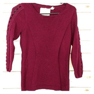 Anthropologie Angel of the North Small sweater